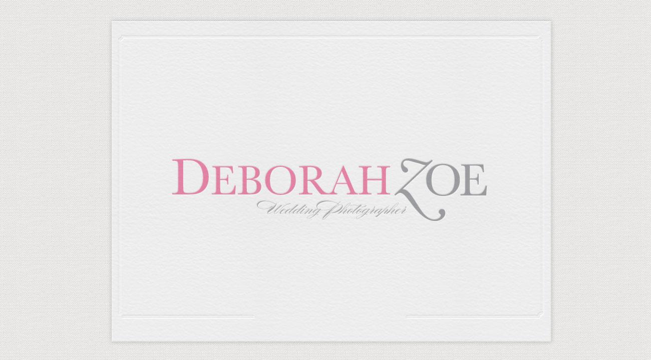 Deborah Zoe Photography Logo
